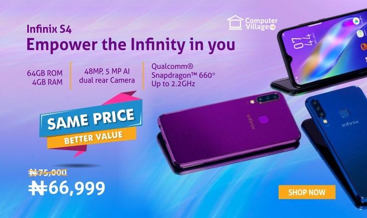 Infinix phones on computer village