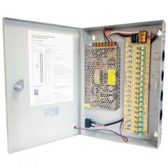 CCTV Power Supply 18 Way