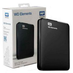 Western Digital Portable External Hard Disk- 1TB (1000GB)