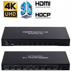 8 Way HDMI Splitter Amplifier