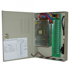 12VDC 5A 9-way CCTV power supply