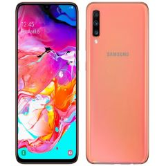 Samsung Galaxy A70 6.7-Inch S-AMOLED Android 9 Pie (6GB RAM 128GBROM) Dual SIM 4GB Fingerprint Smartphone