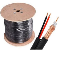 RG59 Coaxial Cable +  Power for CCTV Security Camera - 305m