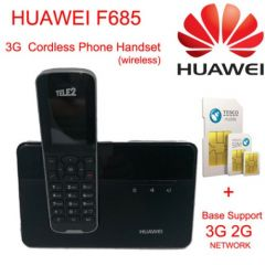 Cordless Phone & Handsets Huawei F685 DECT Desktop Home Phone W/ Sim Card Slot