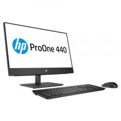 HP ProOne 440 G4 Intel Core i5-8500T (9M Cache, up to 3.50 GHz) 8GB RAM / 1TB HDD/ Bluetooth,DVD-WR, WiFi / Mouse + Keyboard