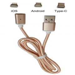 Metal Magnetic Data Cable