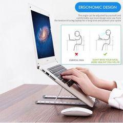 Portable Laptop Stand Holder Ergonomic Holder Mount Adjustable