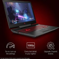 HP OMEN 17 Gaming Laptop, 17.3-Inch Display, 8th Generation Core i7-8750H, 12GB Ram, 1TB+128GB Hybrid Drive, 6GB NVIDIA GeForce GTX 1060 Graphic Card, Windows 10 Home, Black | 2CJ44EA