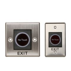 Infrared Sensor No Touch Exit Button for Access Control System