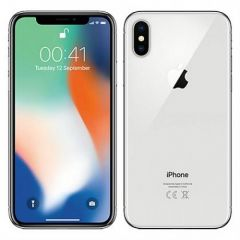 Apple IPhone X 5.8-Inches (3GB RAM, 256GB ROM) IOS 11.1 (Dual Rear 12MP + 12MP) + 7MP, 4G LTE Smartphone