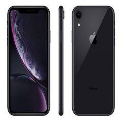 Apple iPhone XR (128GB ROM & 3GB RAM) - 12MP + 7MP Camera - Black