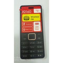 Itel 2160 Wireless FM, Bright Torch, Call Recorder, Dual SIM Mobile