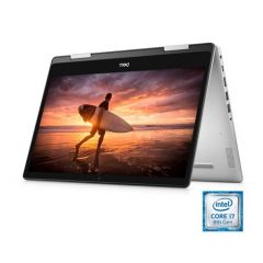 Dell Inspiron 14 5482 2-in-1 Touchscreen Laptop, 14'', Intel Core i7-8565U, 8GB RAM, 256GB m.2 [PCIe] (SSD), Intel UHD Graphics 620, Windows 10, i5482-7069SLV-PUS