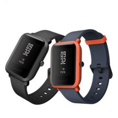 Amazfit Bip Fitness Smartwatch, All-Day Heart Rate and Activity Tracking, Sleep Monitoring, Built-In GPS, 45-Day Battery Life, Bluetooth