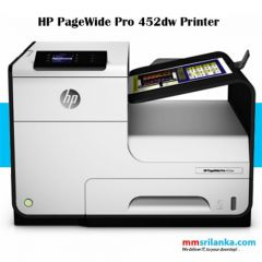 HP PAGEWIDE PRO 452DW COLOURED PRINTER Wireless Handling A4 series, A5 and A6, B5 and B6