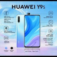 Huawei Y9s 128GB 6GB RAM (Midnight Black & Breathing crystal)