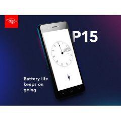 "Itel P15 5.0"" HD Screen, 16GB ROM + 1GB RAM, Android 9 Pie, 5MP + 5MP Camera, 4000mAh Battery, Fingerprint & Face ID"