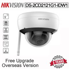 HIKVISION DS-2CD2121G1-IDW1 2MP WiFi Dome IP Camera Built-in Mic, SD Card Slot