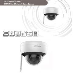 HIKVISION DS-2CD2141G1-IDW1 4MP WiFi Dome IP Camera Built-in Mic, SD Card Slot