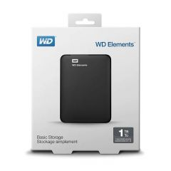 WD Elements External Hard Disk - 1TB