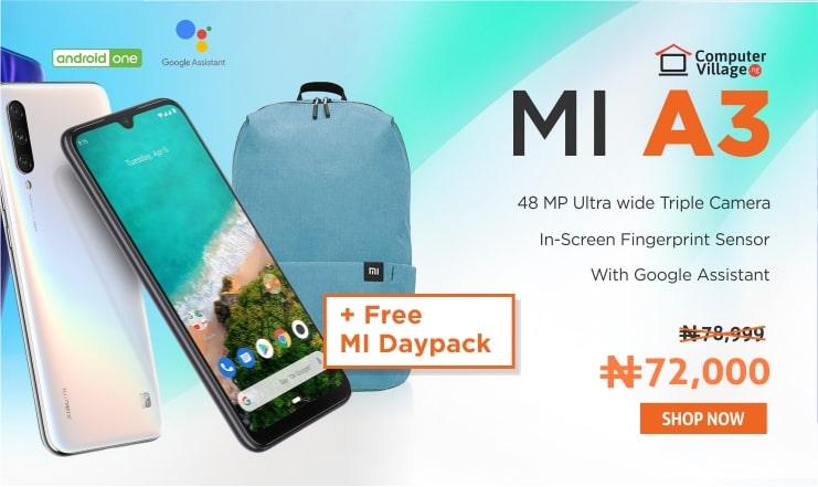 Xiaomi Mi A3 Mi day pack
